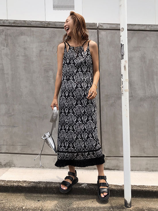 kae_NOAH FRINGE DRESS