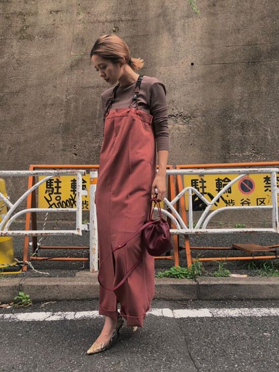yuko_OVERALLS LIKE DRESS