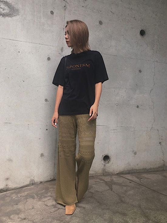 yuko_LACY FUSUMA KNIT PANTS