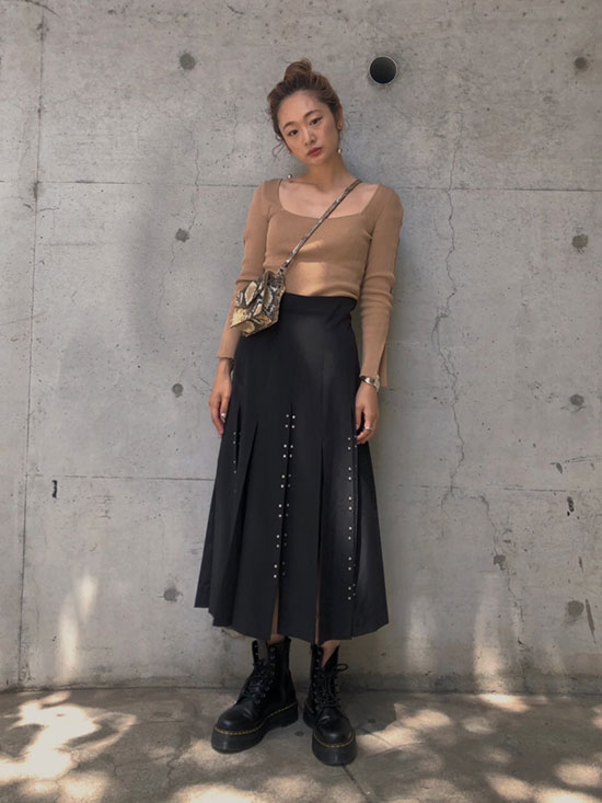 kae_CHASM SCREEN SKIRT