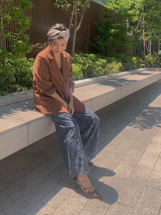 yukim_LAYLA LACE PANTS