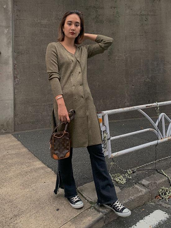 rina_GLITTER 2WAY DOUBLE JACKET DRESS