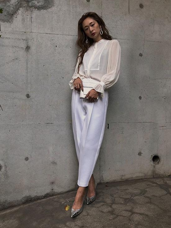 kae_LADY DRESS SHIRT