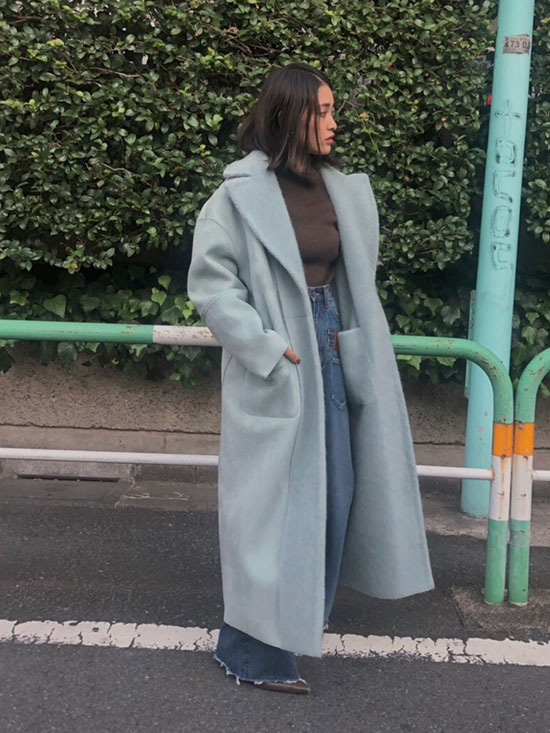 akane_BLANKET LIKE FAKE MOUTON COAT
