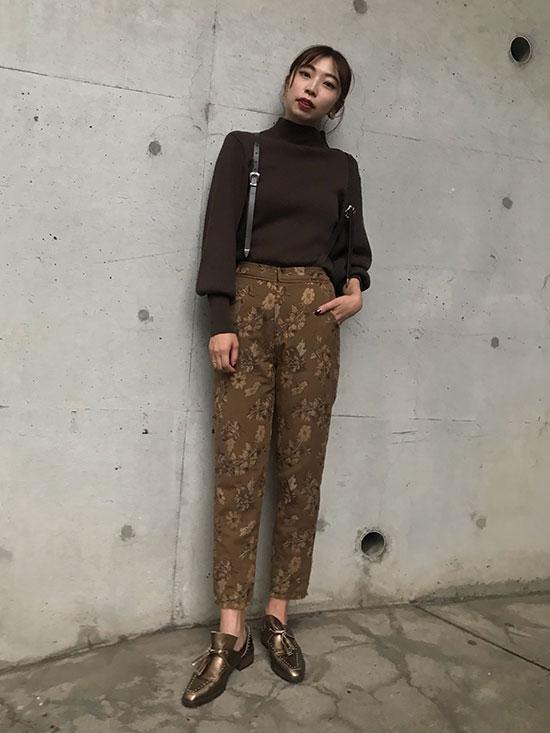 kaori_VIOLET NOBLE 2WAY PANTS