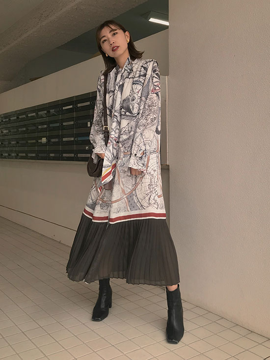 kaori_UNDRESSED CRUISE SCARF DRESS