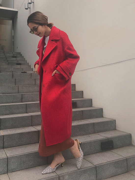 yuko_3WAY OVAL SHAGGY COAT