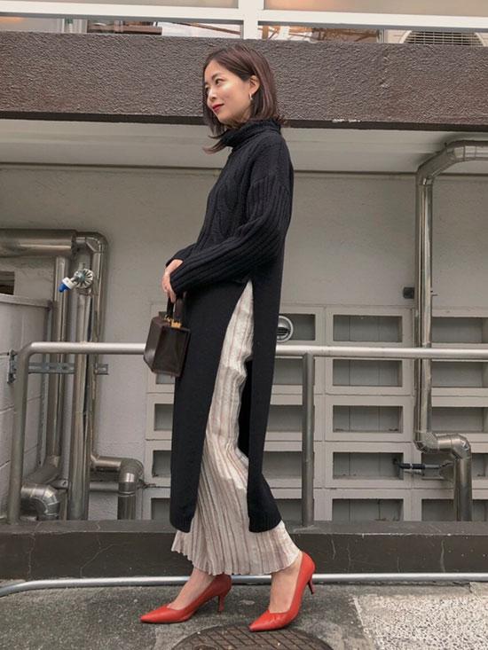 ayumi_UNDRESSED SUSPENDER WASHER PANTS