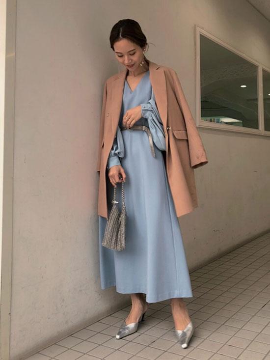 yukin_CANOPY SLEEVE DRESS