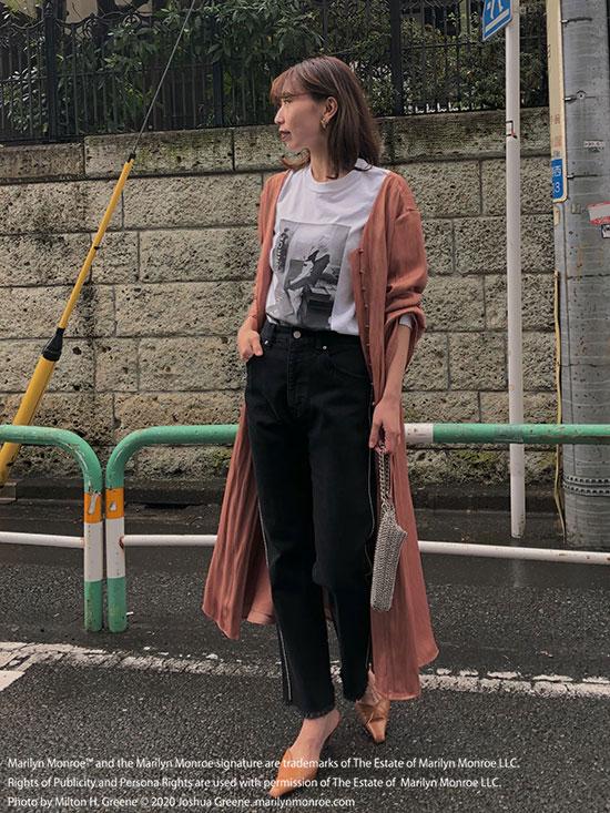 kaori_TUCK SHAPE DRESS