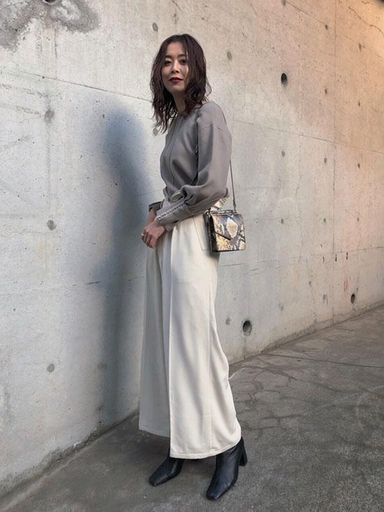 ayumi_COIN PURSE WAIST PANTS