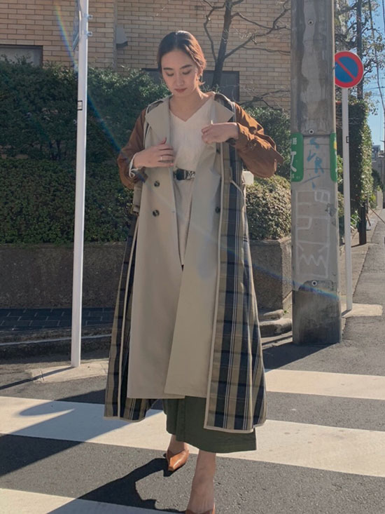 rina_REMOVABLE TRENCH COAT