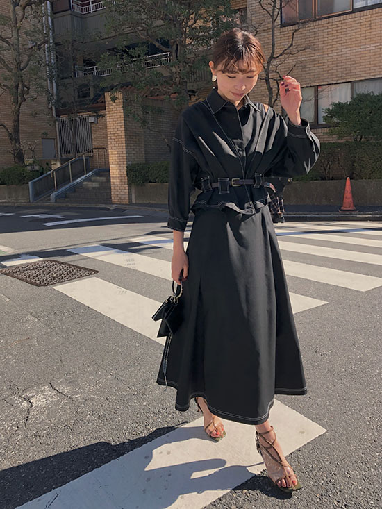 kaori_GENTLEWOMAN OVERLAP DRESS