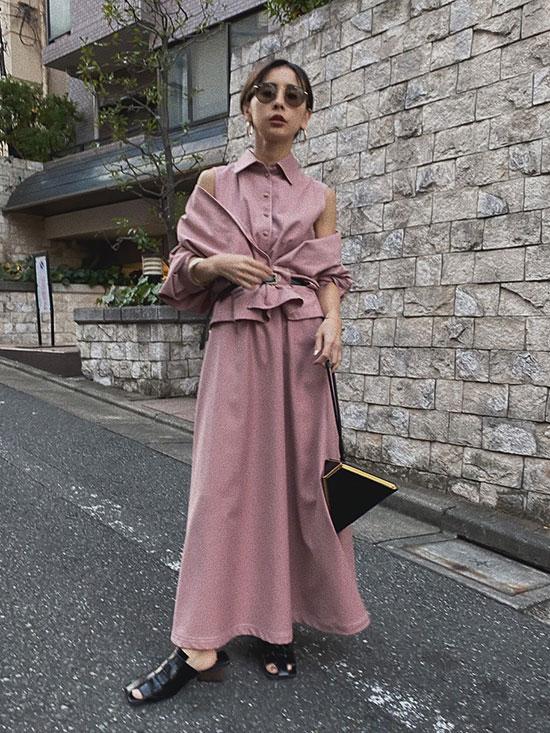 nao_GENTLEWOMAN OVERLAP DRESS