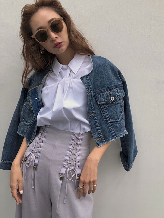 kae_CONNECTED TIE BLOUSE