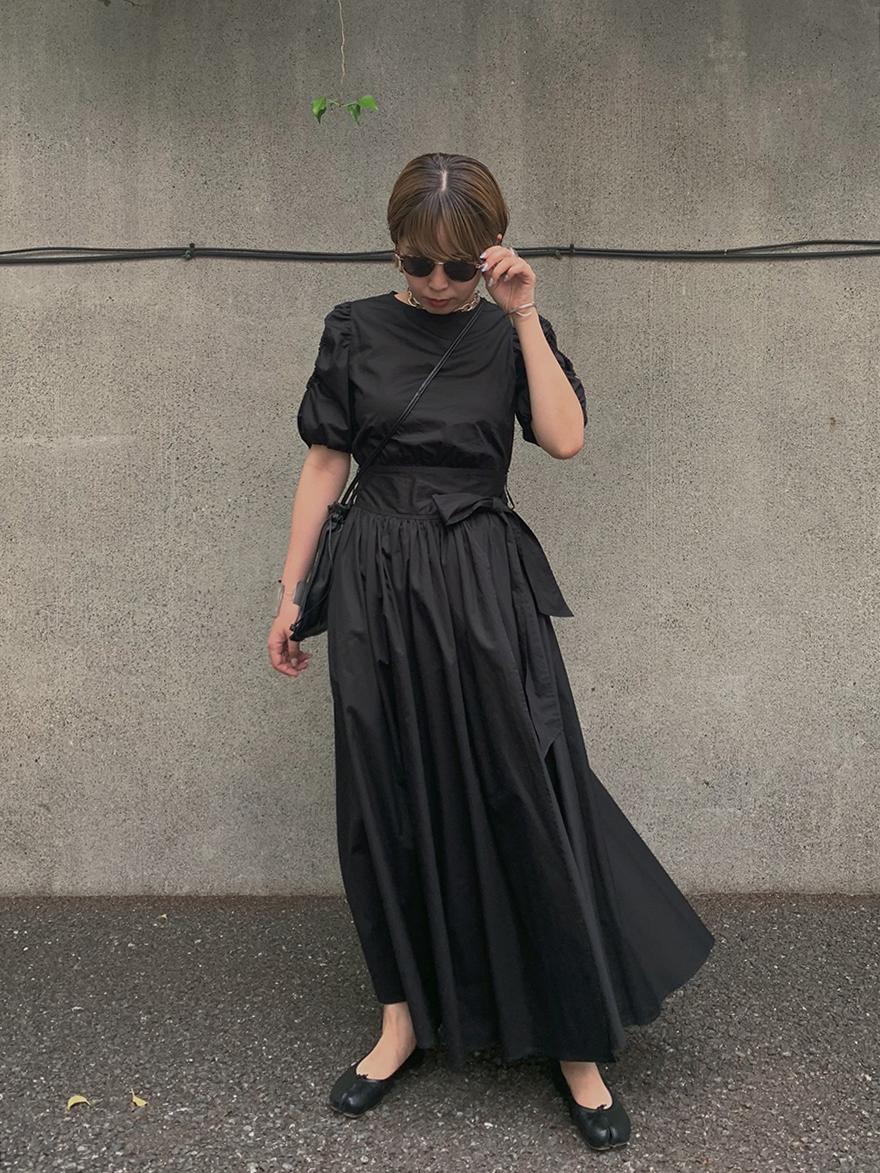 reisa_DONUTS SLEEVE DRESS