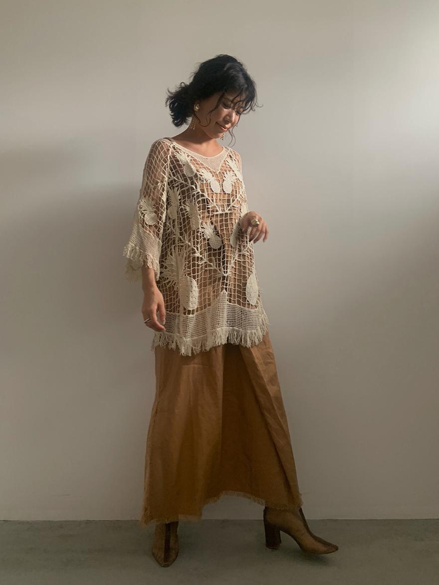 yuki_MEDI ROPE STRAP TUCK DRESS
