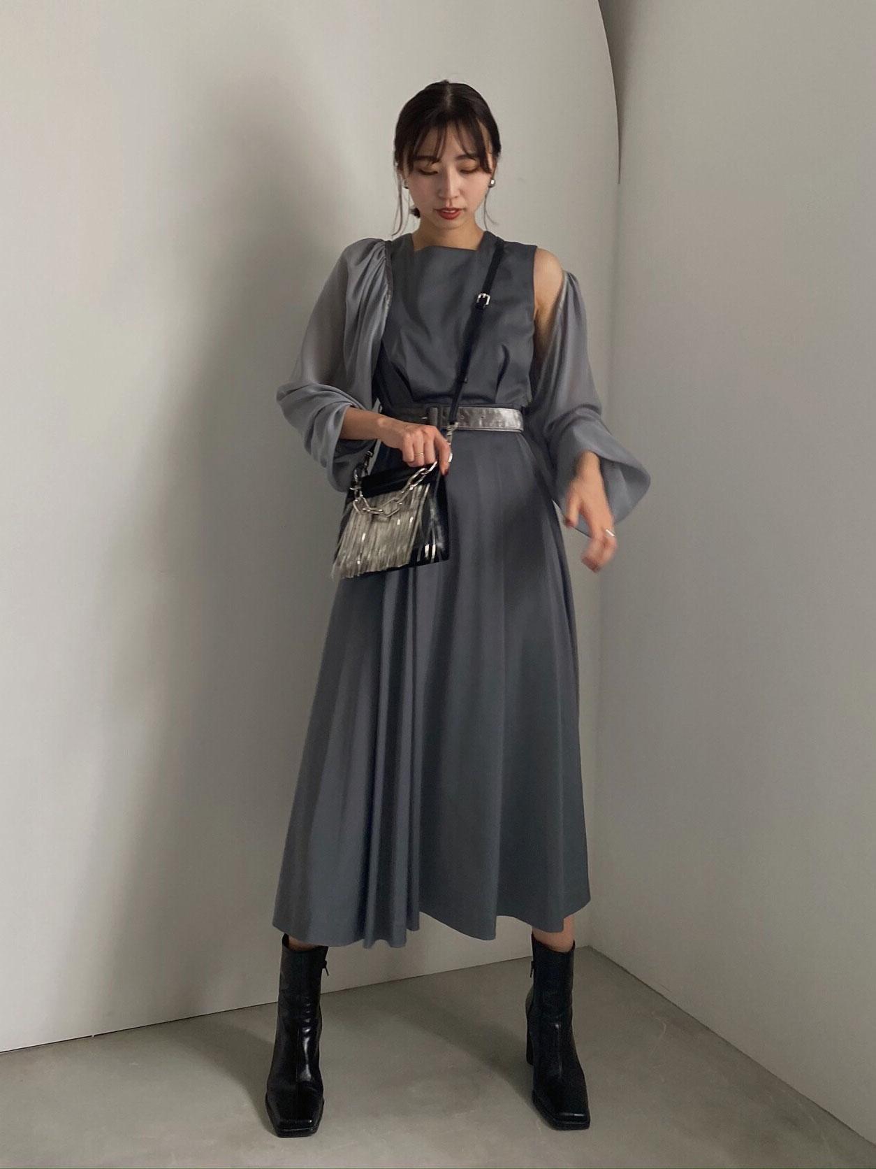 kaori_UNDRESSED BOLERO SET DRESS