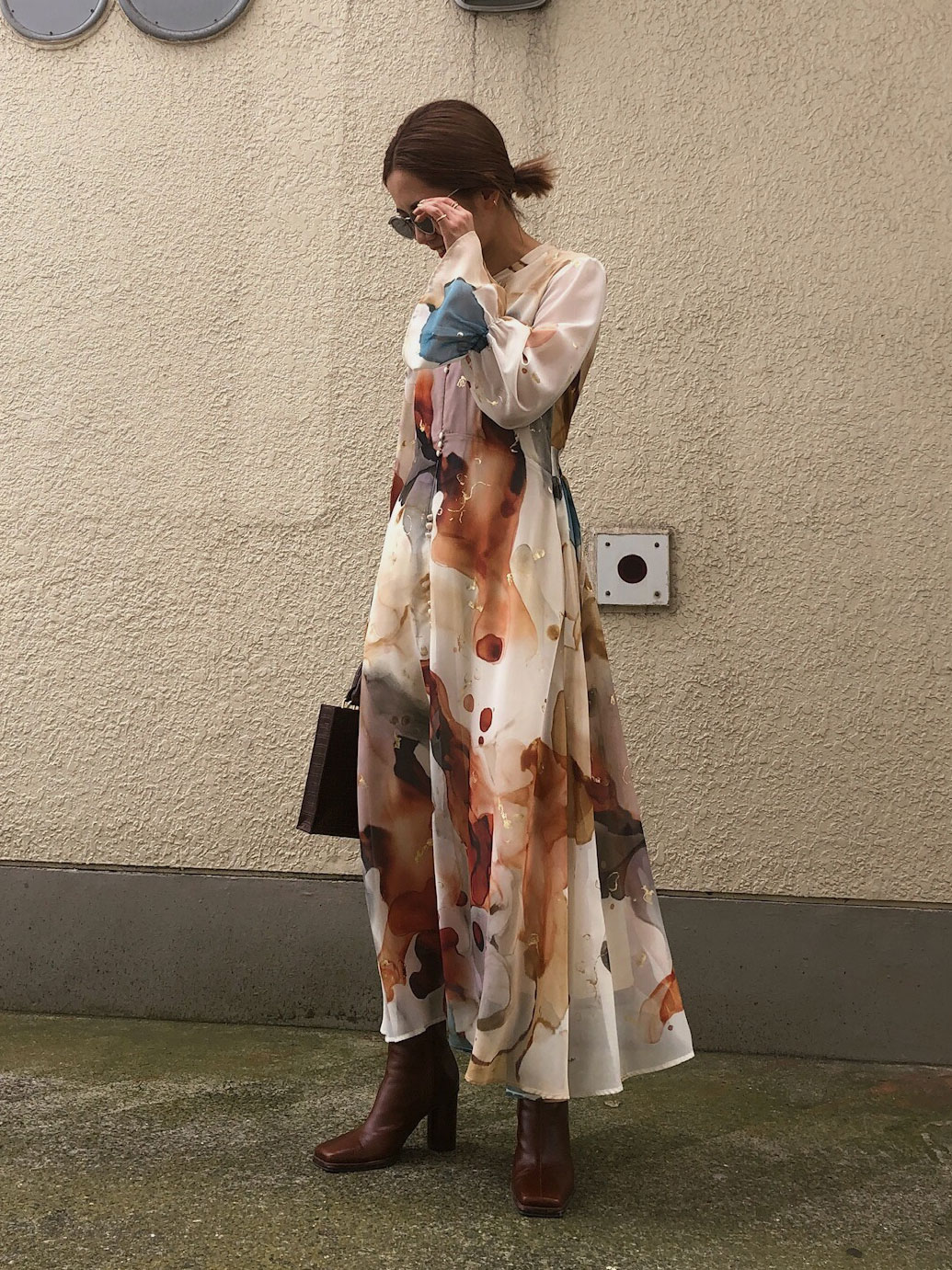 yuko_UNDRESSED AMELIA INK ART DRESS