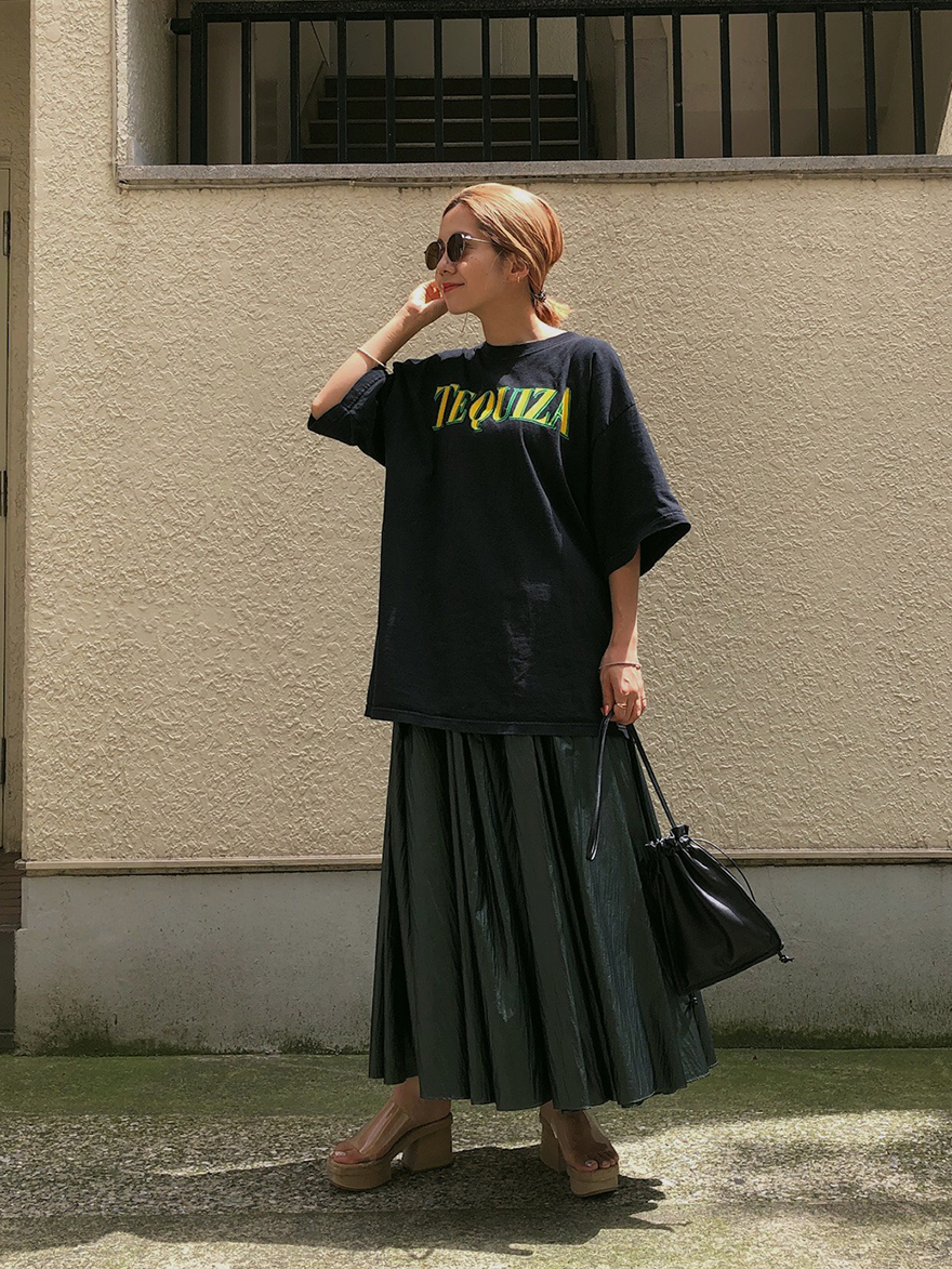 yuko_PAPER BAG SKIRT