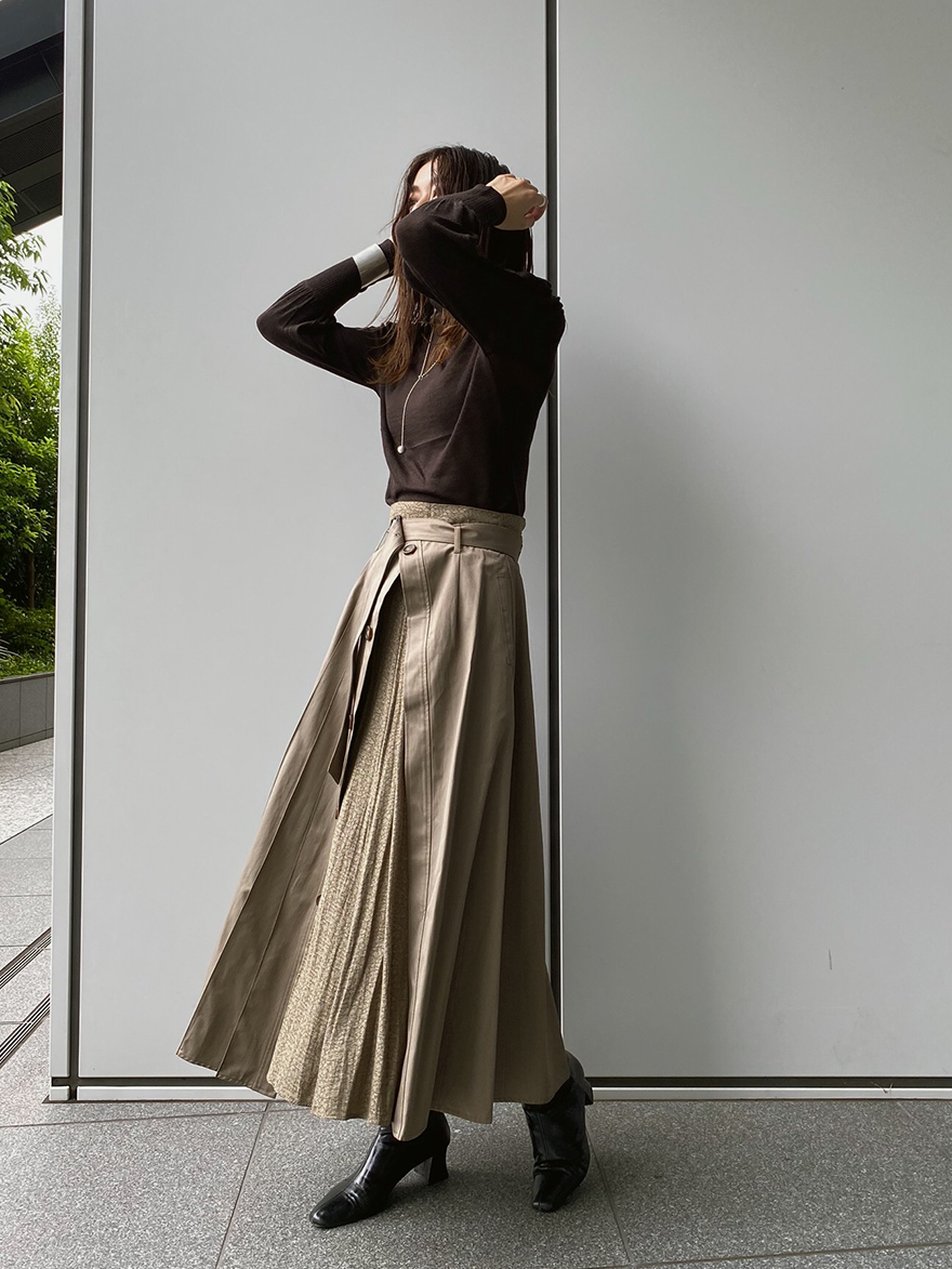 ayumi_SOPHIA 2WAY TRENCH SKIRT