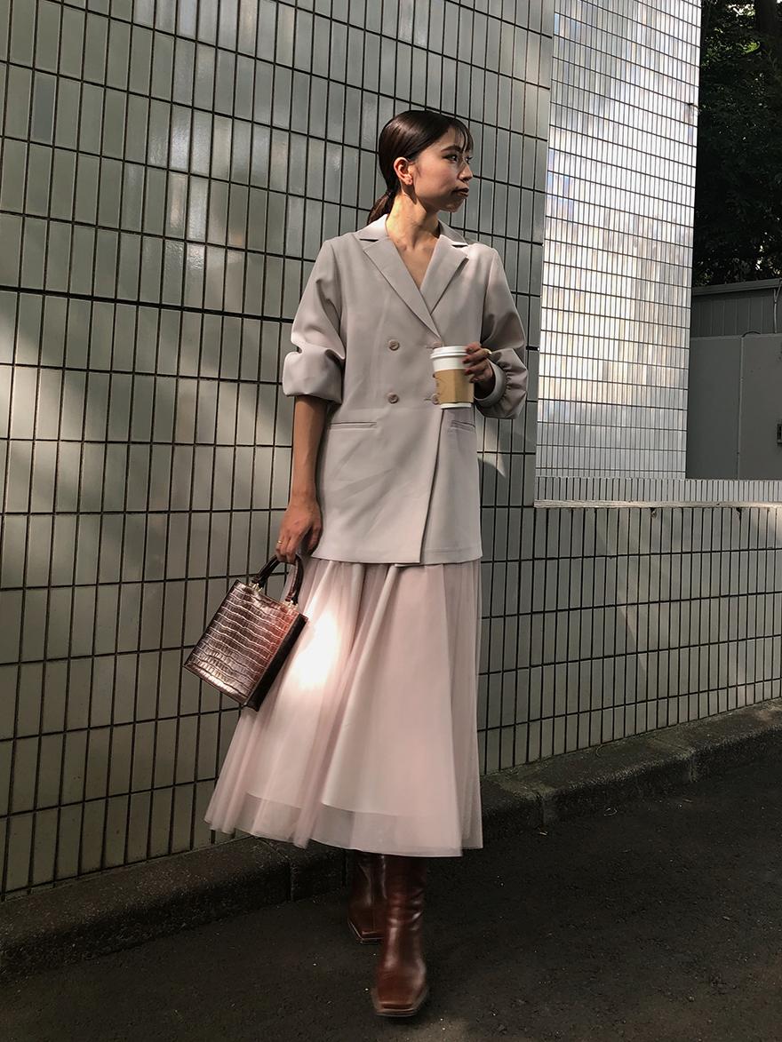 kaori_TRINITY JKT TULLE DRESS
