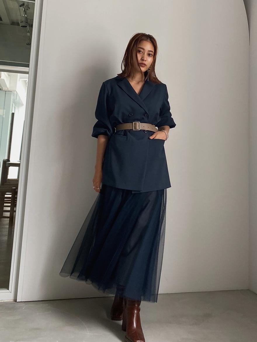 akane_ TRINITY JKT TULLE DRESS