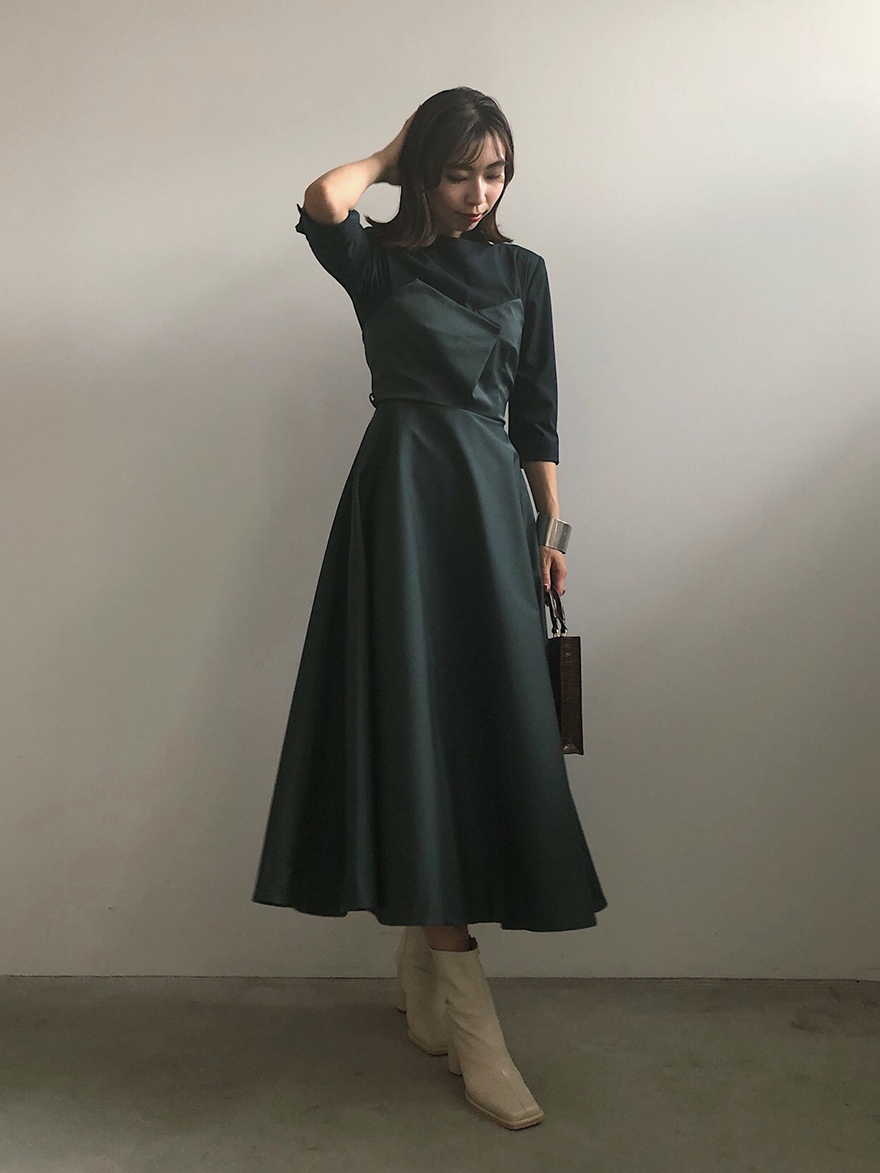 KAORI_DEFORMATION LADY DRESS