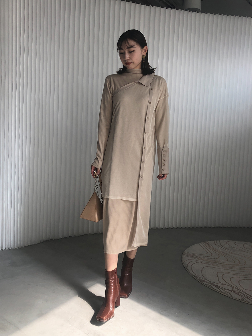 kaori_ELABORATE KNIT DRESS