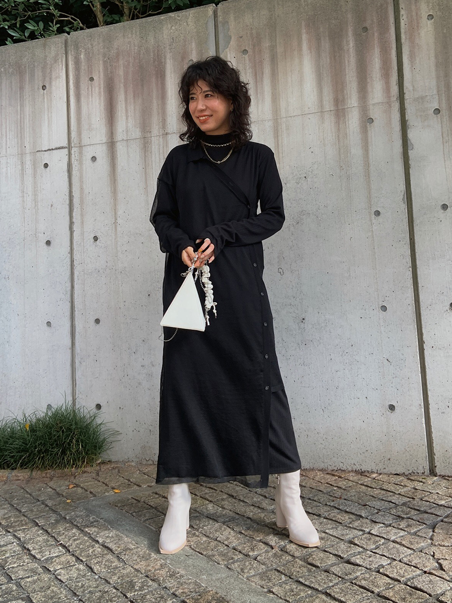 yuki_ELABORATE KNIT DRESS