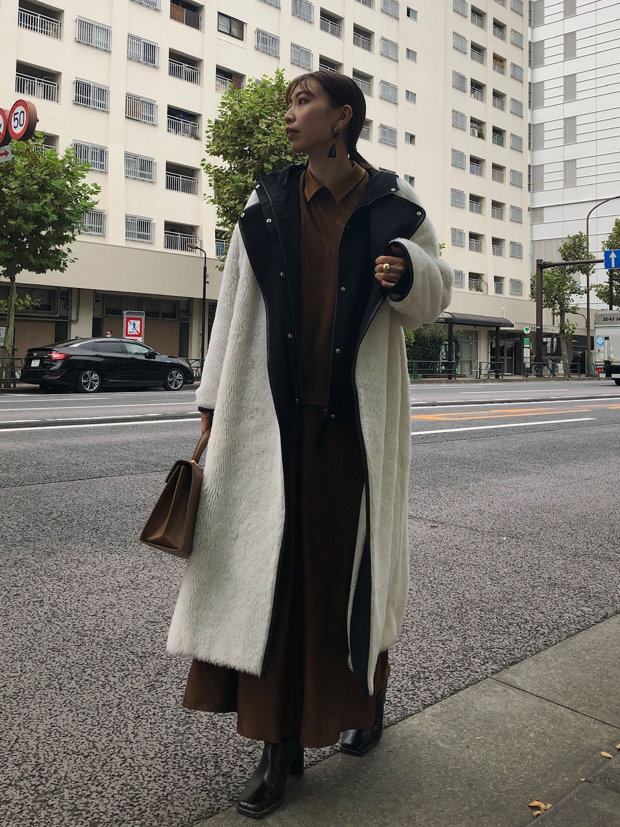 kaori_MILITARY LAYERED BOA COAT