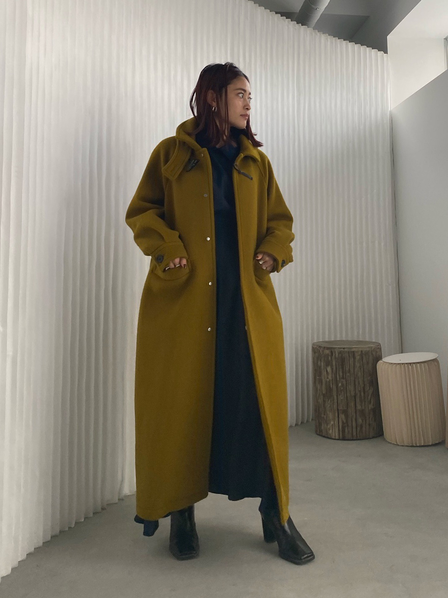 akane_2WAY COLLAR DUFFLE COAT