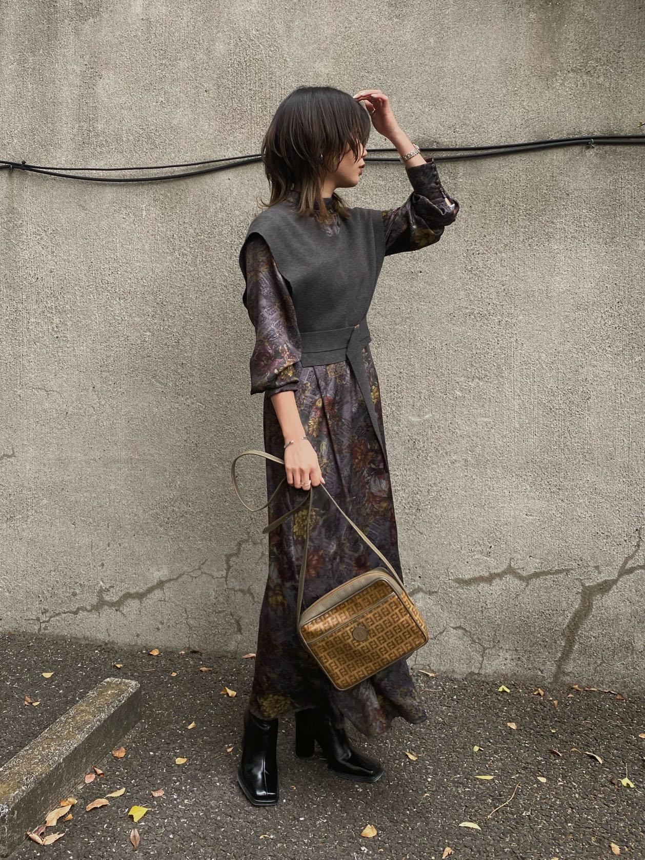 mayun_UNDRESSED NATHALIE VEST SET DRESS