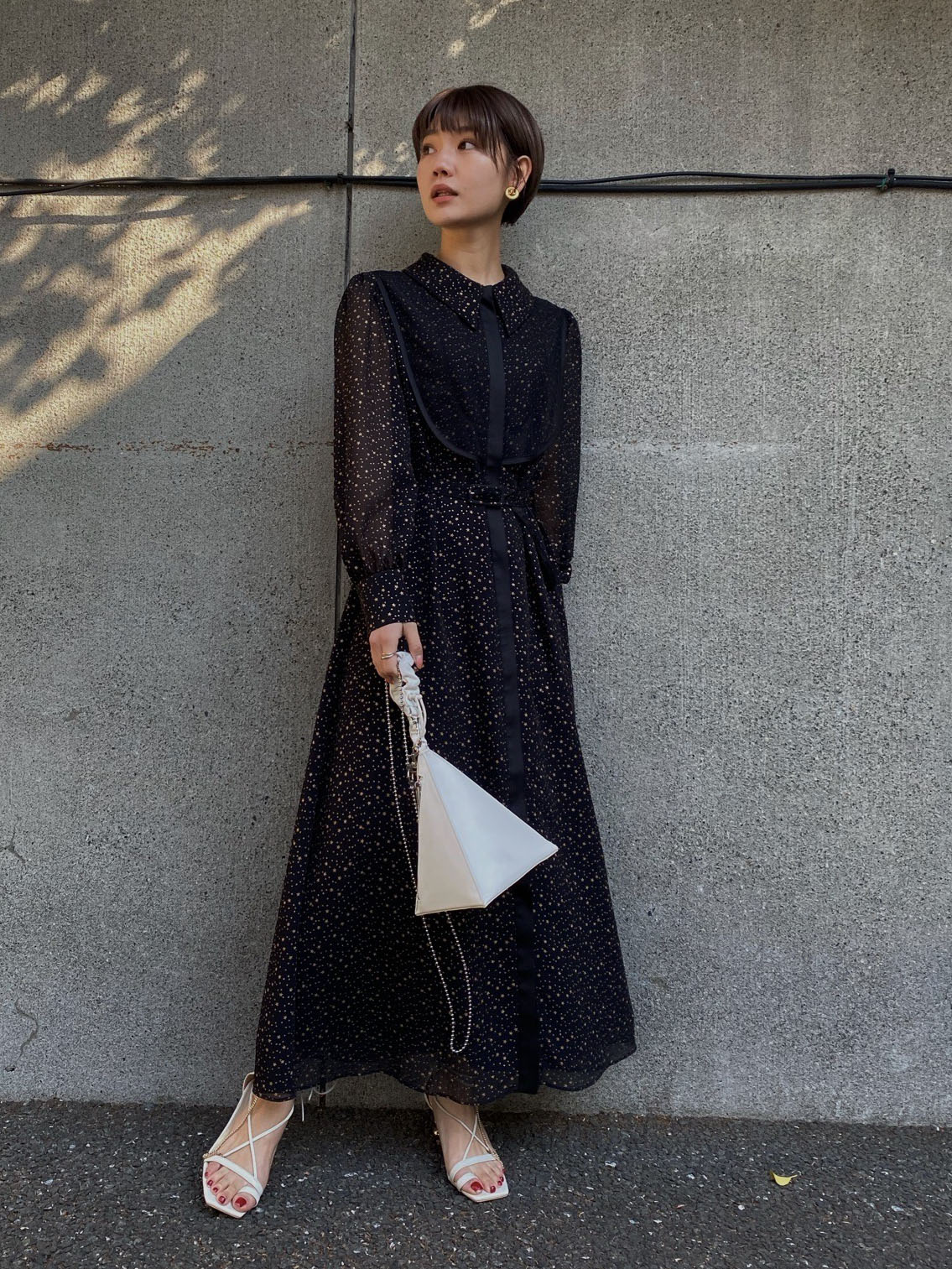 suzu_TWINKLE APRON DRESS