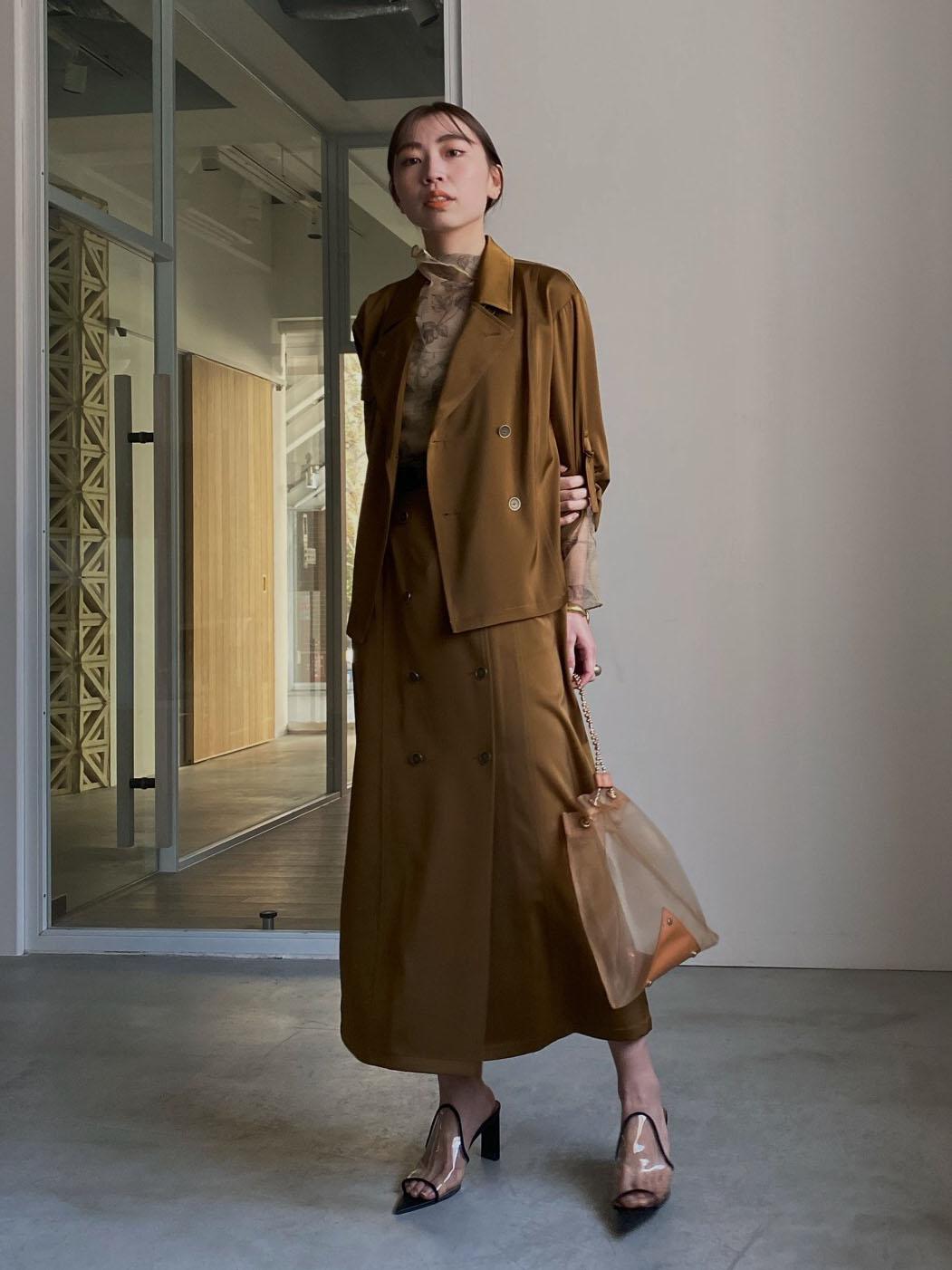 kaori_3WAY TRENCH DRESS