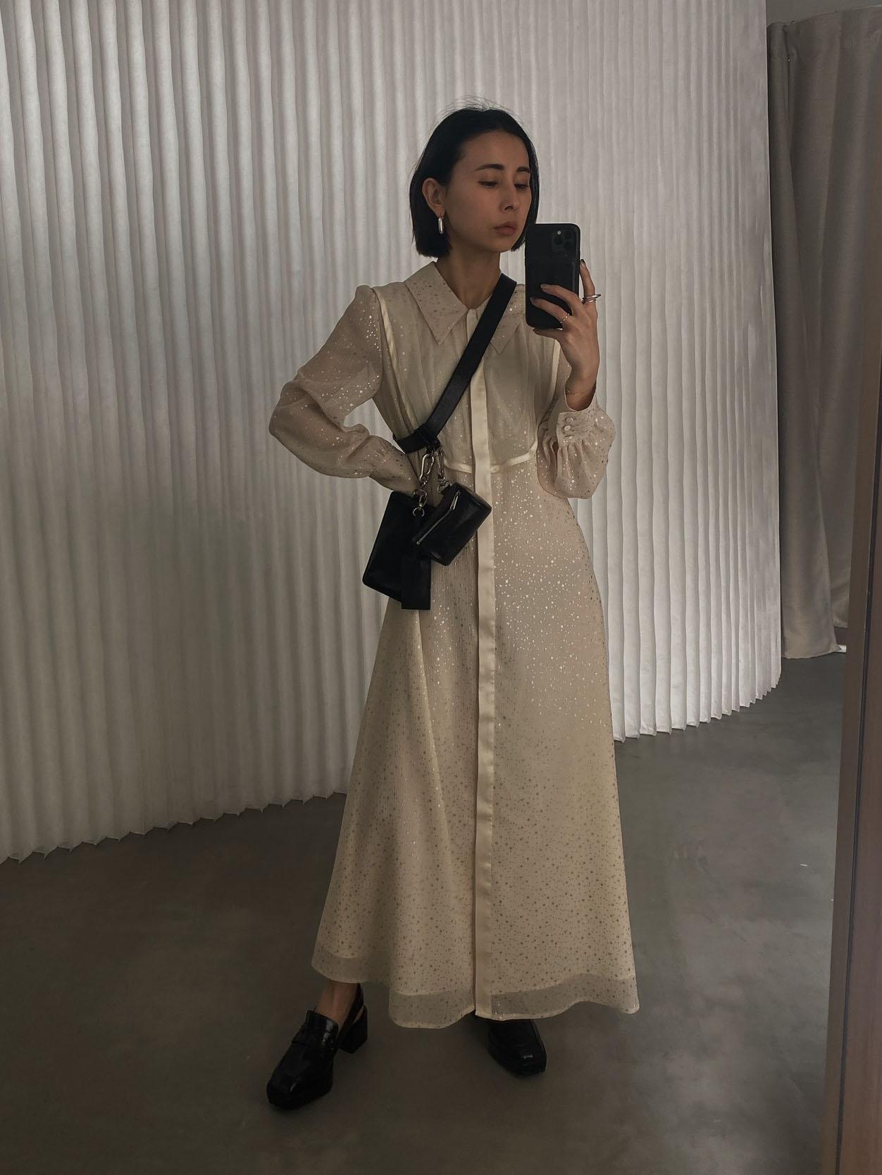 nao_TWINKLE APRON DRESS