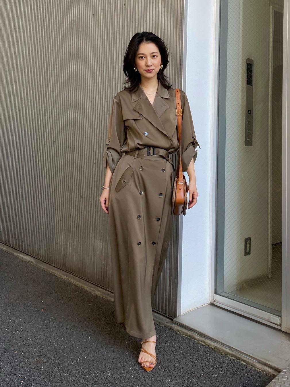 yu_3WAY TRENCH DRESS