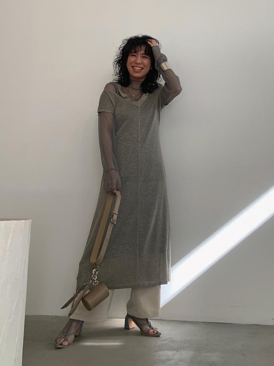 yuki_SHINE SET KNIT DRESS
