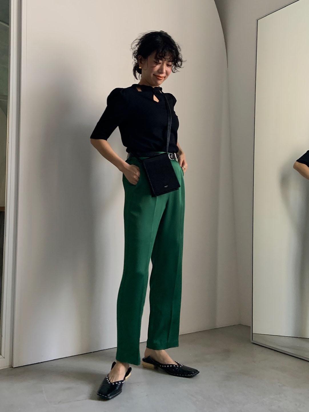 yuki_CROWN WAFFLE TOP