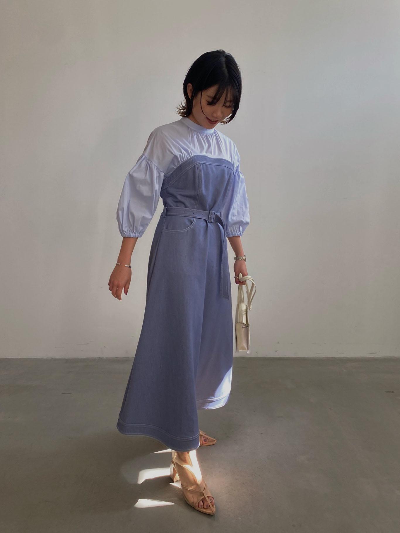 mayuna_AFFOGATO SHIRT DRESS