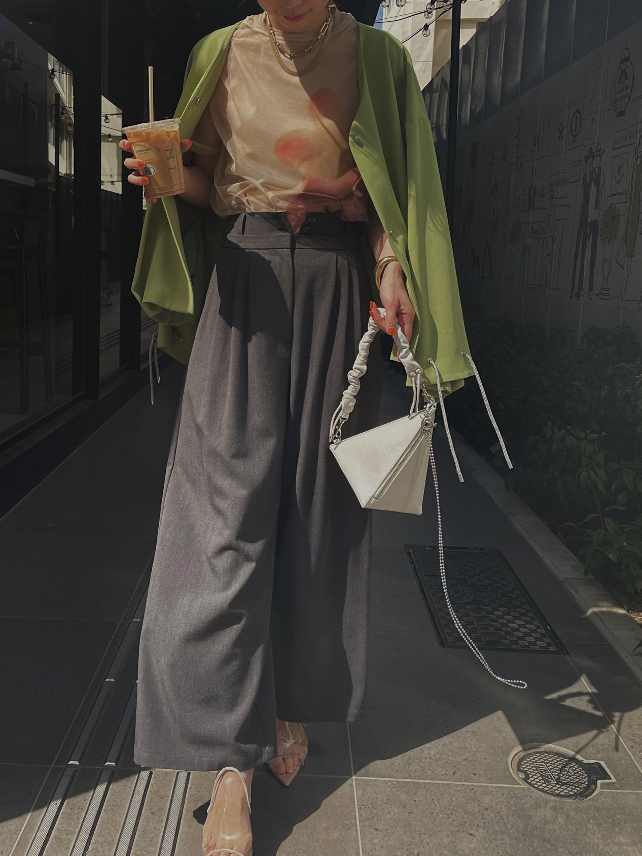 kaori_TOMBOY STRAIGHT PANTS