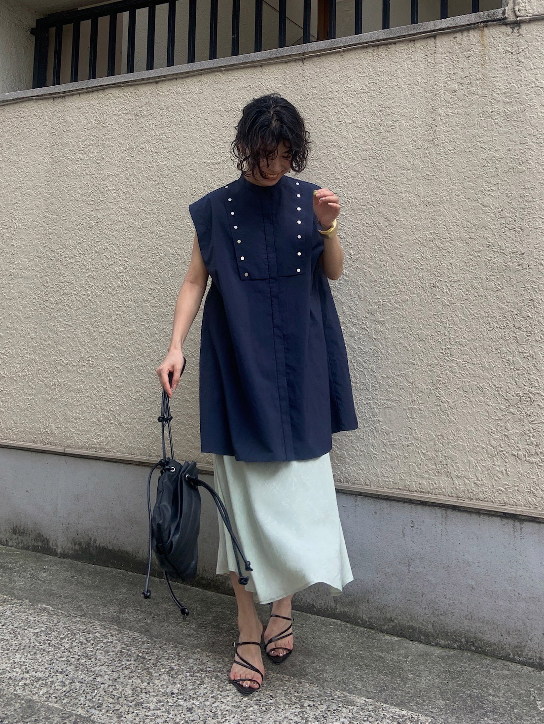 yuki_ATIN JACQUARD FLARE SKIRT