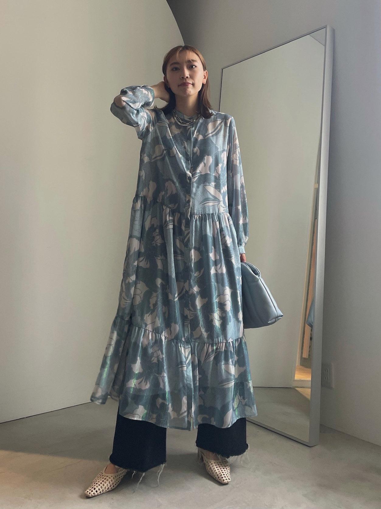 kaori_OLIVIA GATHER SHIRT DRESS