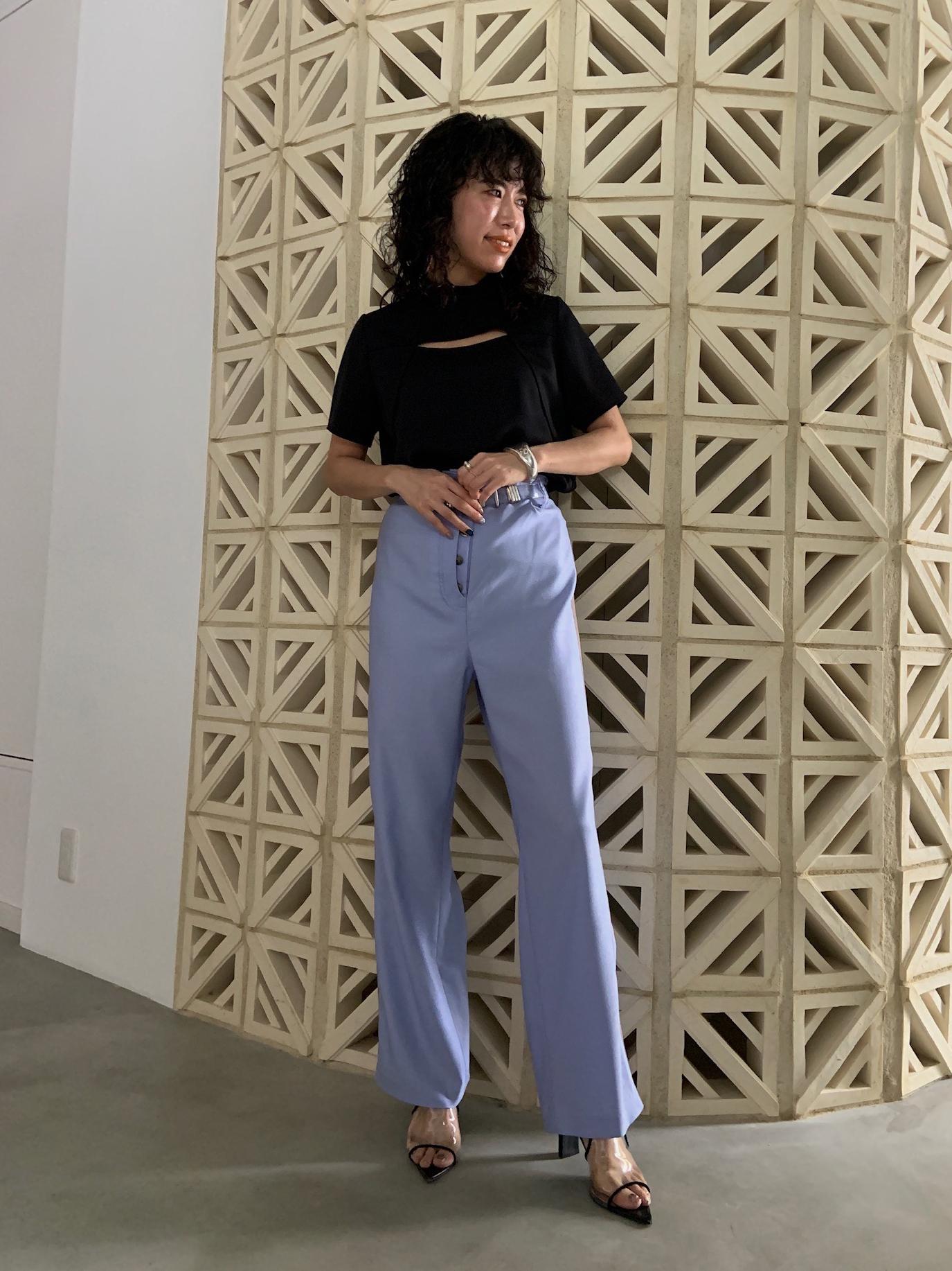 yuki_SIDE LINE PANTS