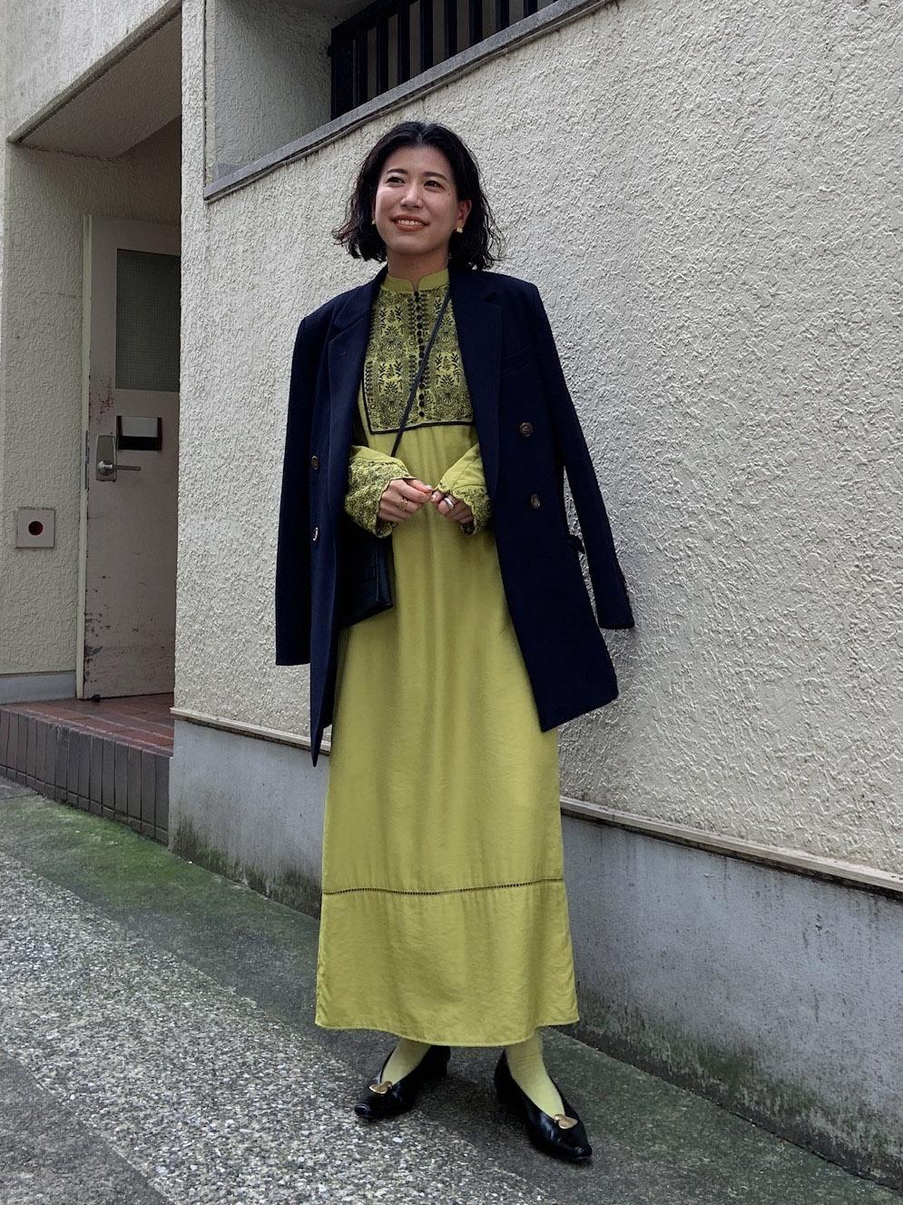 yuki_ELFIN EMBROIDERY CAFTAN DRESS