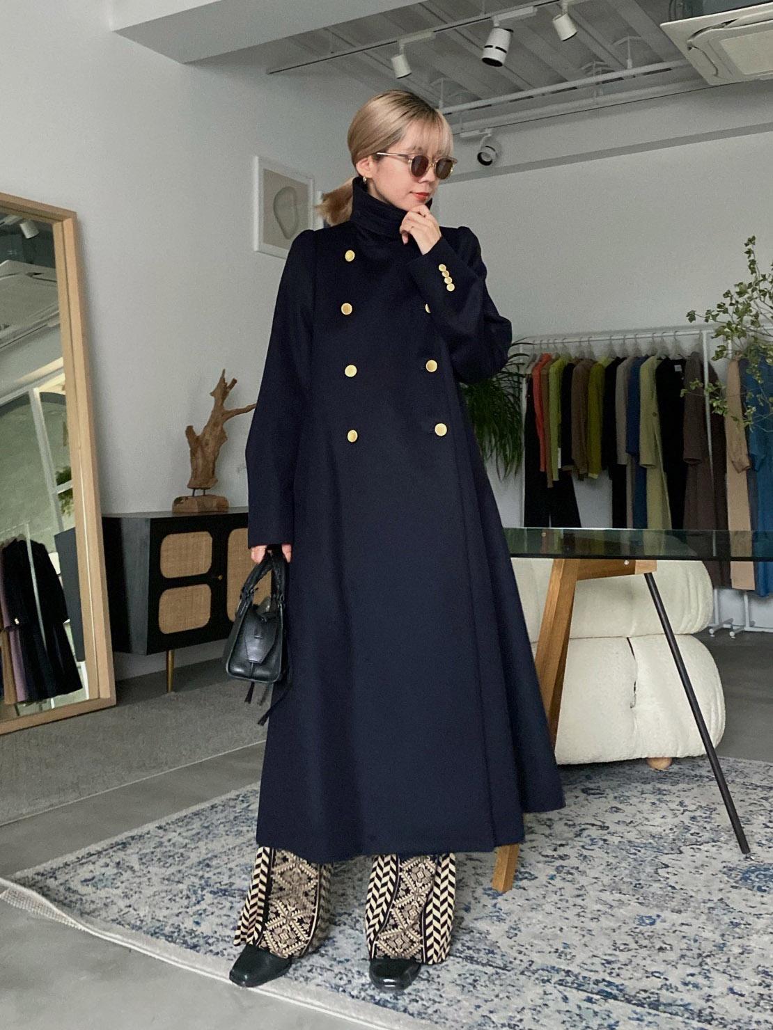 yuko_CHARME FLARE LONG COAT