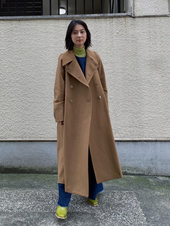 yu_CHARME FLARE LONG COAT