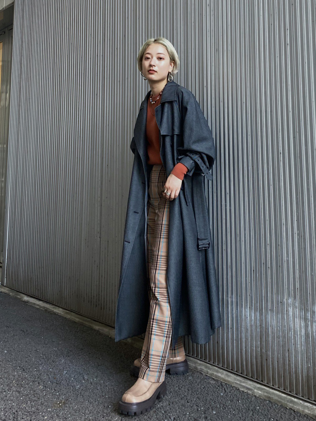 shiho_SUPERIOR FLARE TRENCH COAT