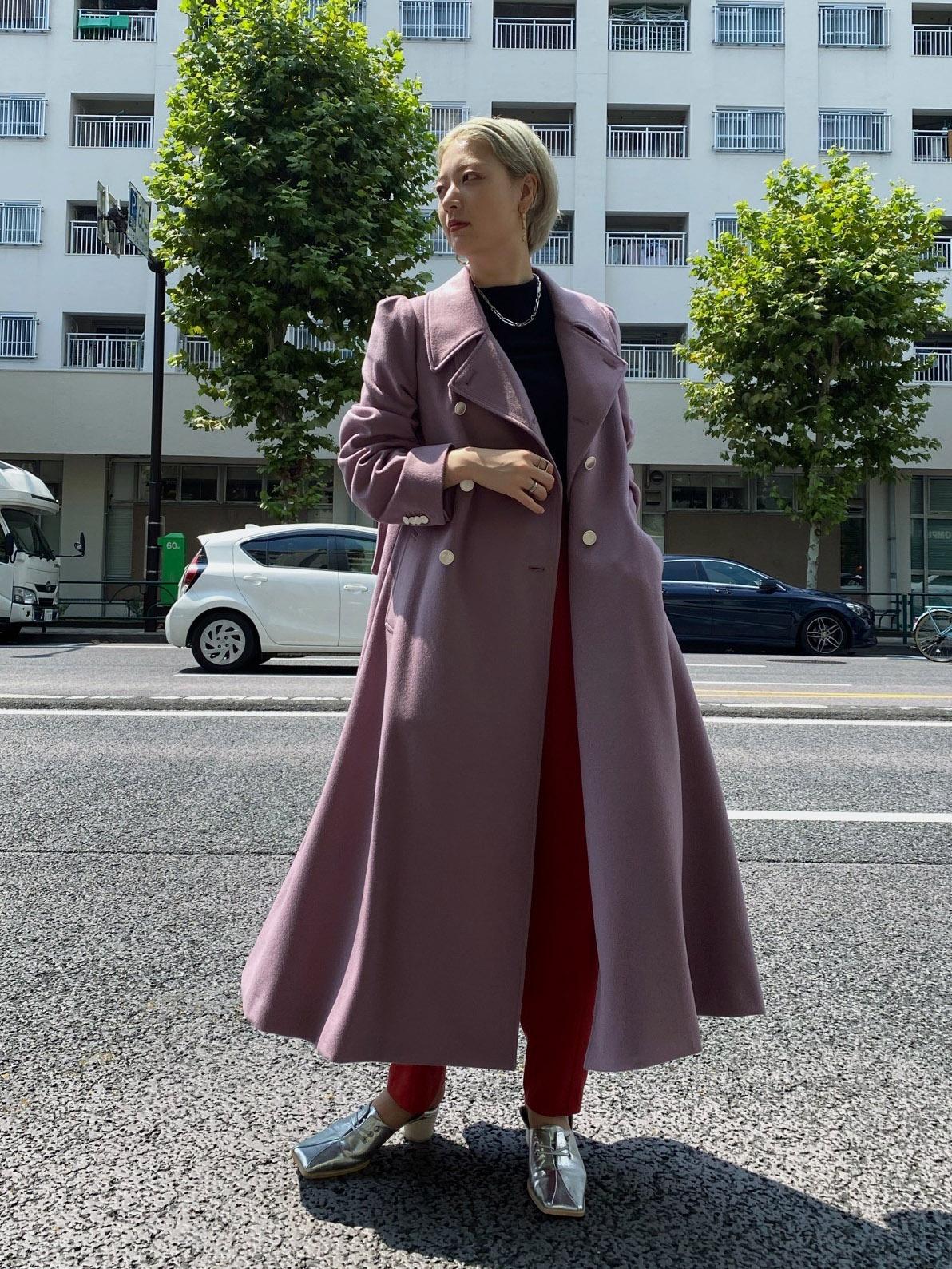 shiho_CHARME FLARE LONG COAT