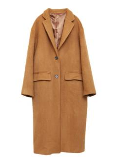ALPACA WOOL LONG COAT